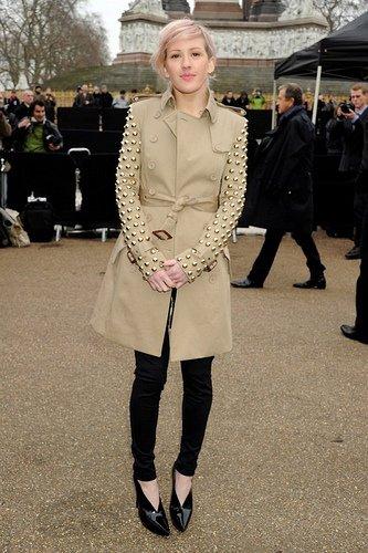 Ellie Goulding et la mode.