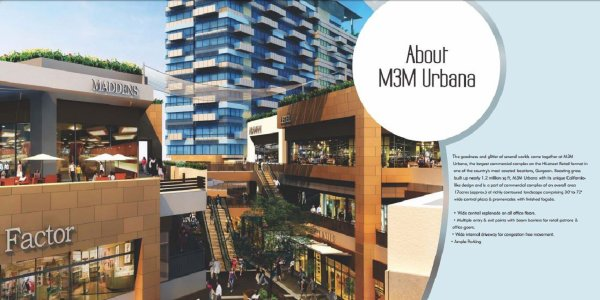 M3M Urbana- A mixed commercial development