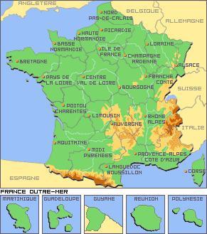 Les beaux paysages de France