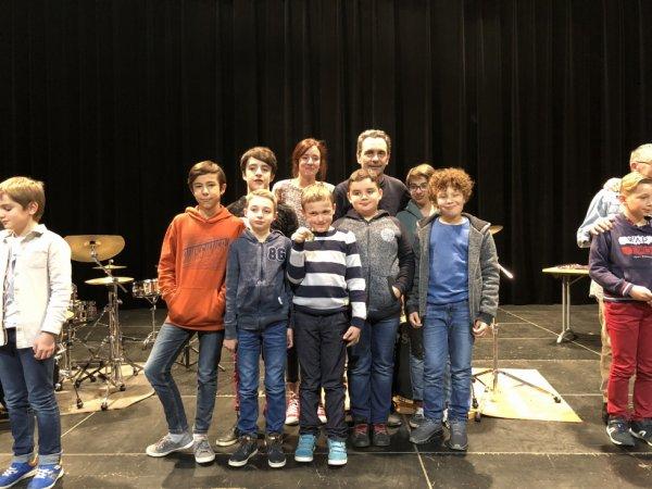 La sélection régionale au concours EMA Mars 2018 à Limoges