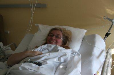 lendemain de l'opération