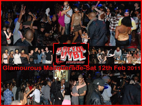 Pics from the GLAMOUROUS MASQUERADE NIGHT, Saturday 12th February 2011