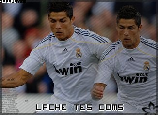iii CR7PLAYER8888888888888888Lache tes com's