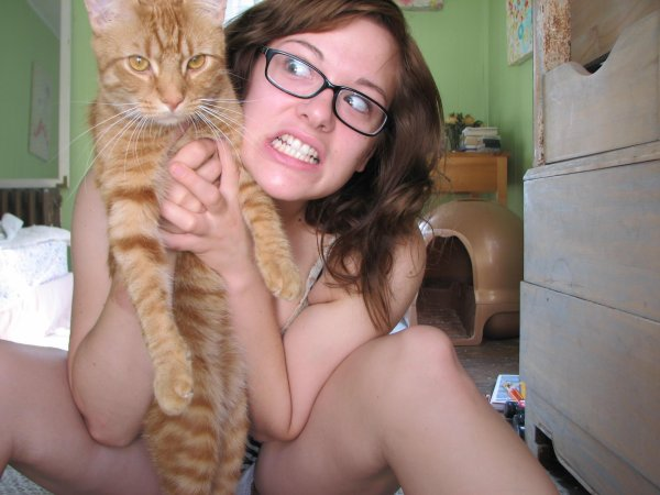 ma chatte et moi LOL
