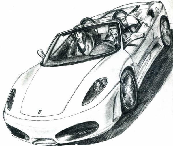 Ferrari f430 spider sldesign - Dessin de ferrari ...
