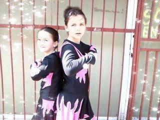 deux étincelles  Sandy et Melody