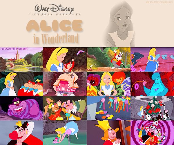 ● Alice au pays des merveilles ●