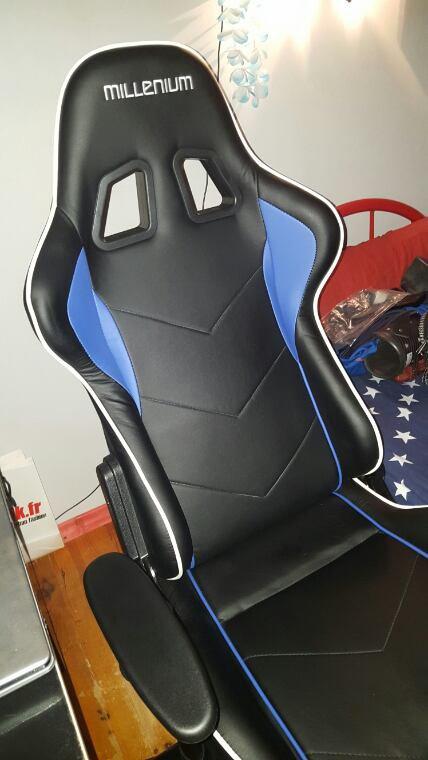 Mon nouveau chaise baquet