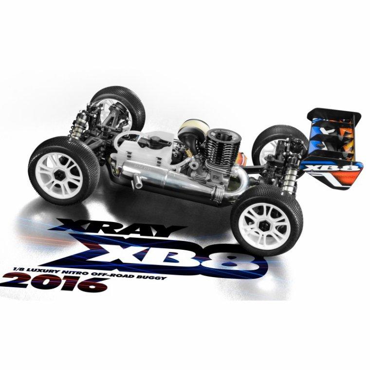 Xray Buggy XB8 Nitro 2016 KIT
