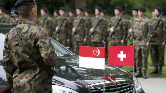 La Suisse et Singapour signent une déclaration de coopération