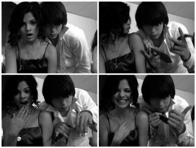 Selena Gomez avec un ami