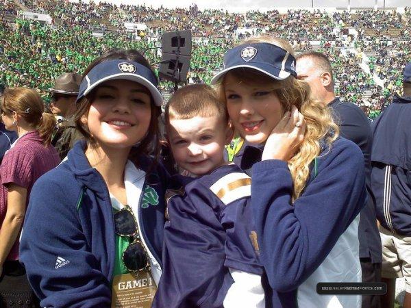 Jeux de Football a Notre Dame avec Taylor