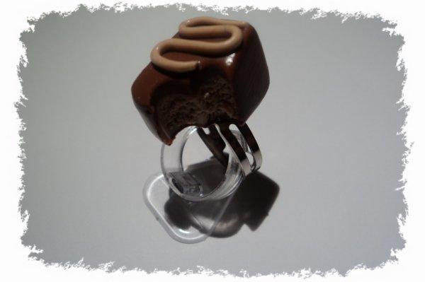 bague chocolat croqué