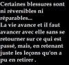 Certaines Blessures...
