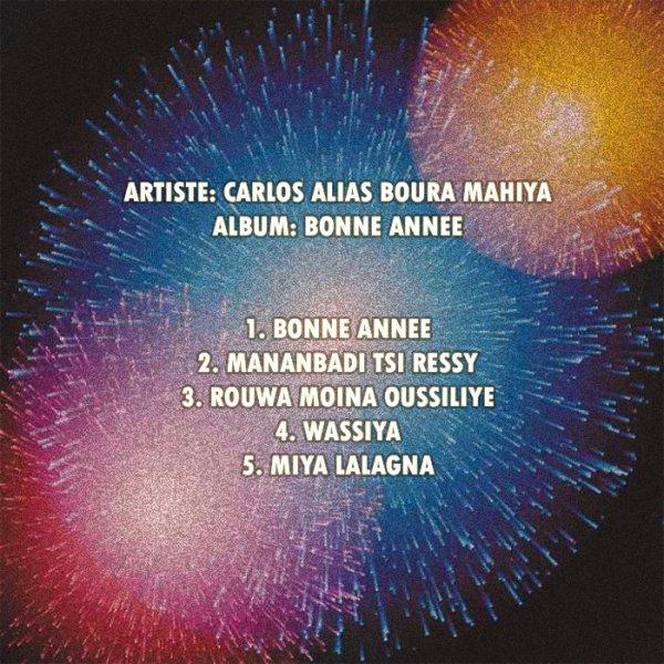 """Tracklist album """"Bonne année"""""""