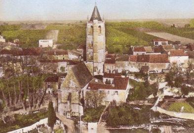 Le village dans les années soixante dix