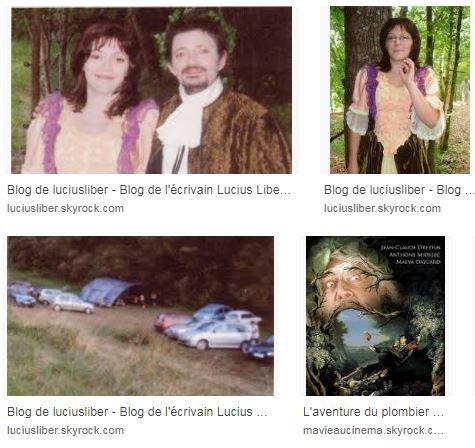 Panorama d'internet Lucius Liber.