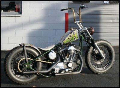The Cordano Nash Motorcycle Custom Bobber 1998 883 Harley Sportster 1200cc