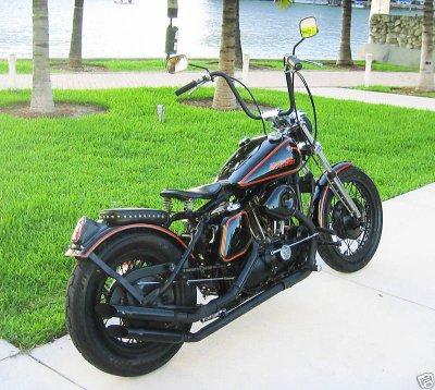 1972 Harley Davidson Sportster Ironhead 1000cc Miami Beach Florida Pictures