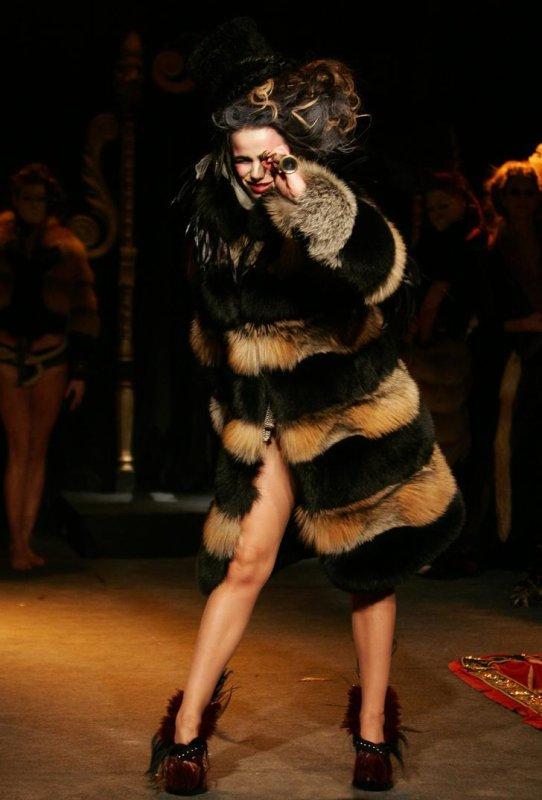 Top Model pour le défilé de Quentin Veron (2 mars 2010)