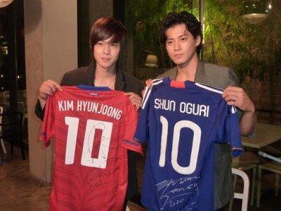KIM HYUN JOONG VS SHUN OGURI