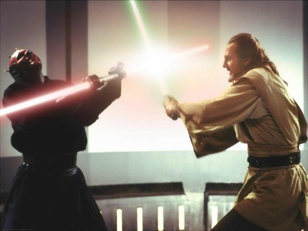 qui gon jin vs dark maul