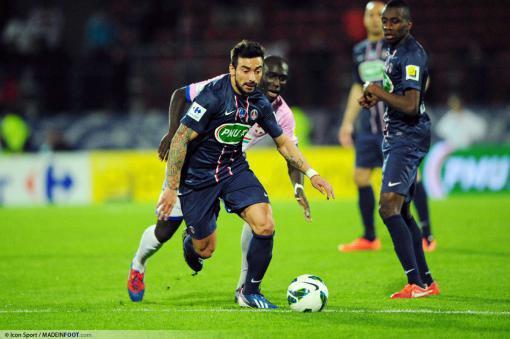 L'agent de Lavezzi dément la rumeur AC Milan