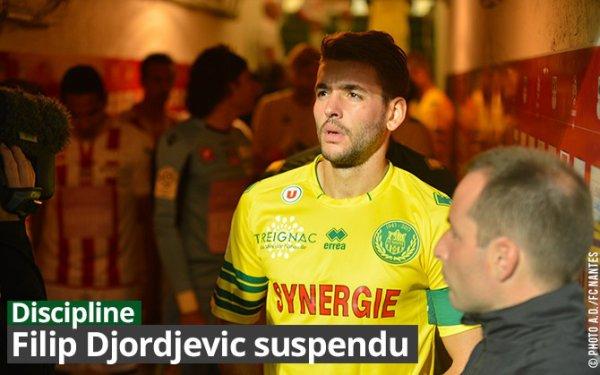 Fillip Djordjevic suspendu trois match!!!!