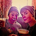 voici Justin B et son ami