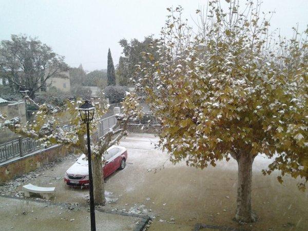 Il neige!!!!