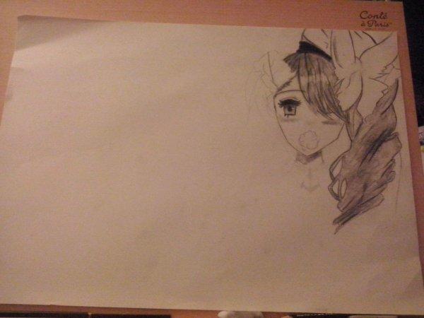 Le commencement de mon dessin