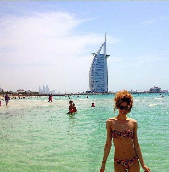 INFOS! Danielle est a Dubaï, photo :