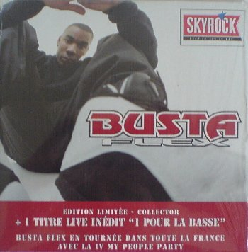 """Busta Flex collector incluant """"1 pour la basse (live)"""""""
