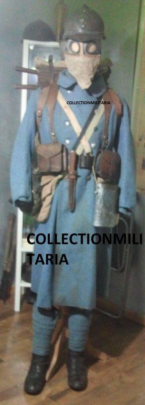 Mannequin français 1916