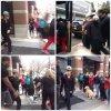 28.03 - Justin quitte son hôtel à Toronto