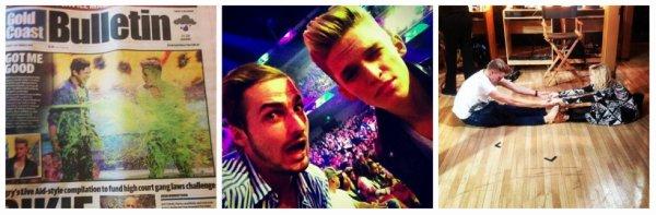 Cody Simpson - Instagram de ses ami(e)s