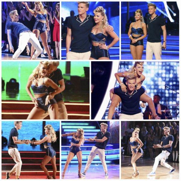 31 mars: Cody & Witney effectue durant la semaine 3 de Danse avec les Stars