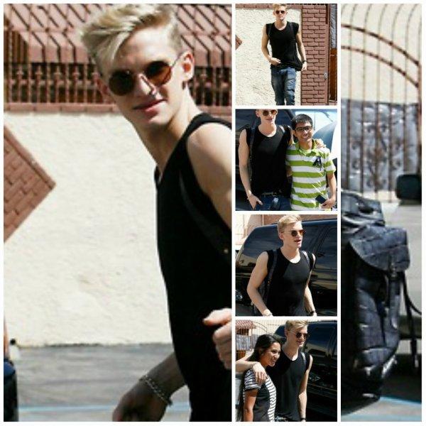 9Avril : Cody au studio de danse le mercredi