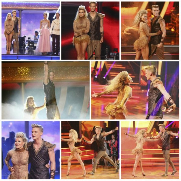 Mardi 14 avril: Cody & Witney effectuer pendant la semaine 5 de Dancing with the Stars