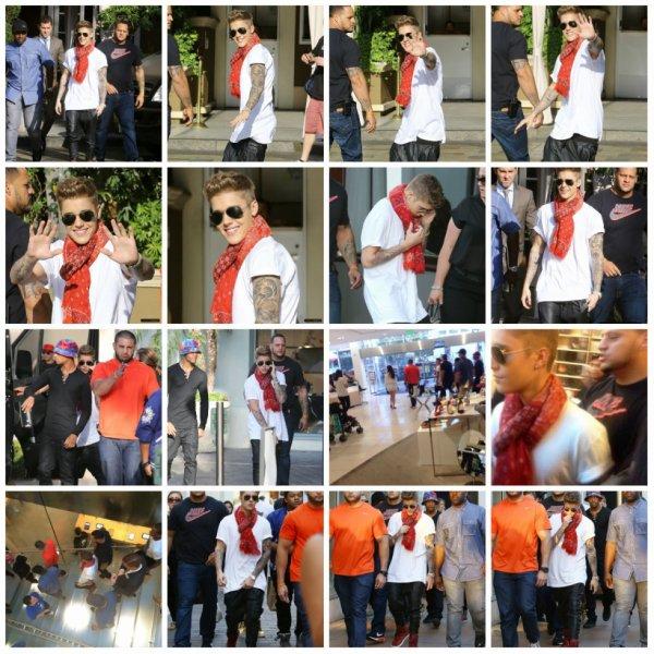 16.04 - Justin dans les rues de Los Angeles, Californie