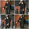 18.04 - Justin à la sortie d'un studio à Hollywood, Californie