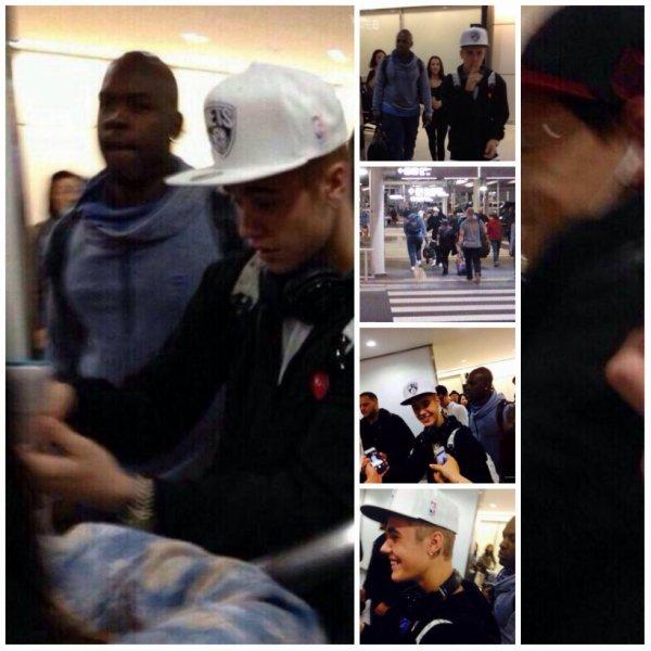 20.04 - Justin à l'aéroport de Tokyo, Japon