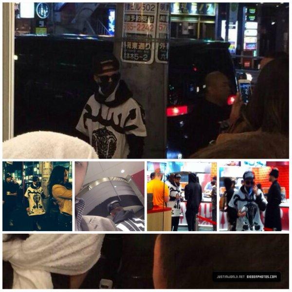 23.04 – Justin à Wendy's à Tokyo, Japon