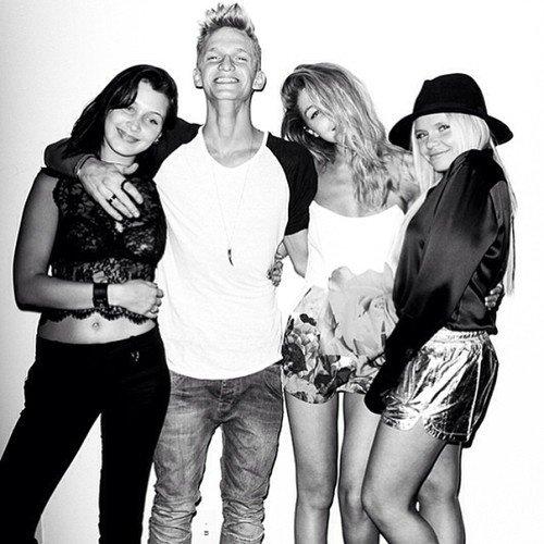 Bella, Cody, Gigi, Alli