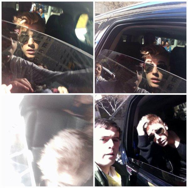 27.04 - Justin quitte son hôtel, New York