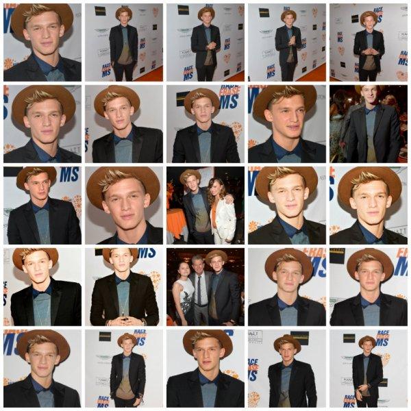 2 mai: Cody à la course annuelle du 21 au Erase MS à l'hôtel Hyatt Regency Century Plaza à Century City, Californie