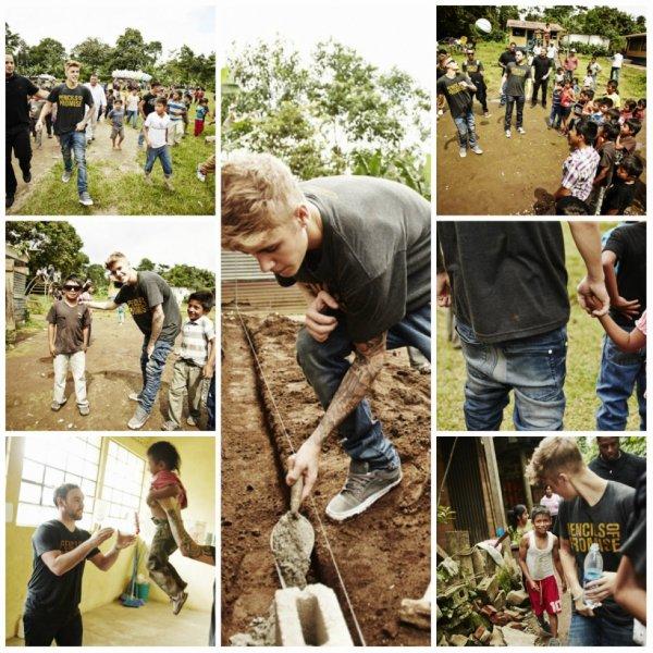 27.10 - Justin et des enfants à Solola, Guatemala