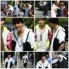 08.05 – Justin rencontre ses fans à la sortiIe de son hôtel, Beverly Hills, Californie