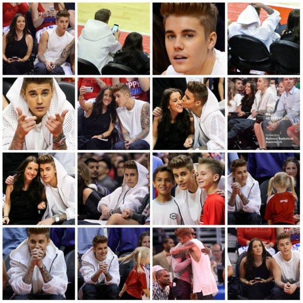 11.05 - Justin a un match de Basket, L.A.