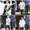 11.05 - Justin devant l'hôtel Four Seasons à Beverly Hills